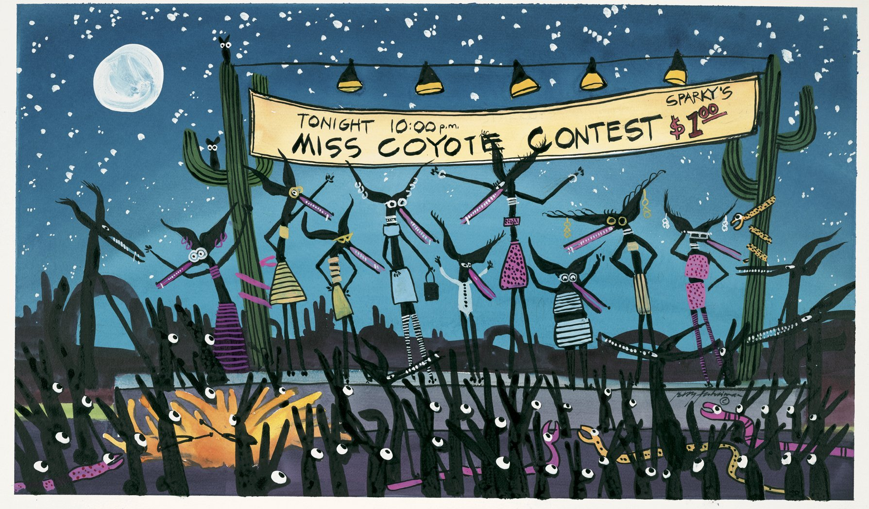 Miss Coyote Contest