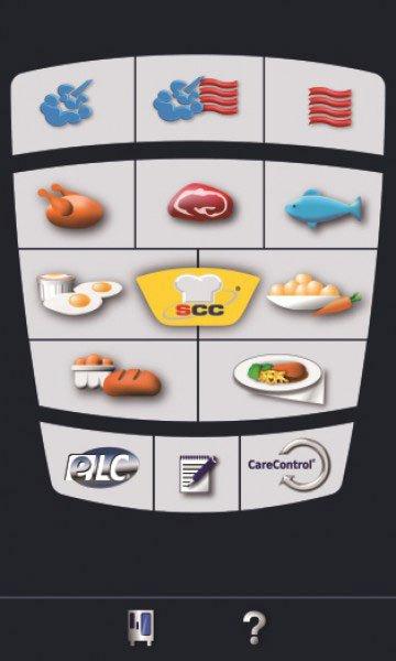 Panel di selezione del forno