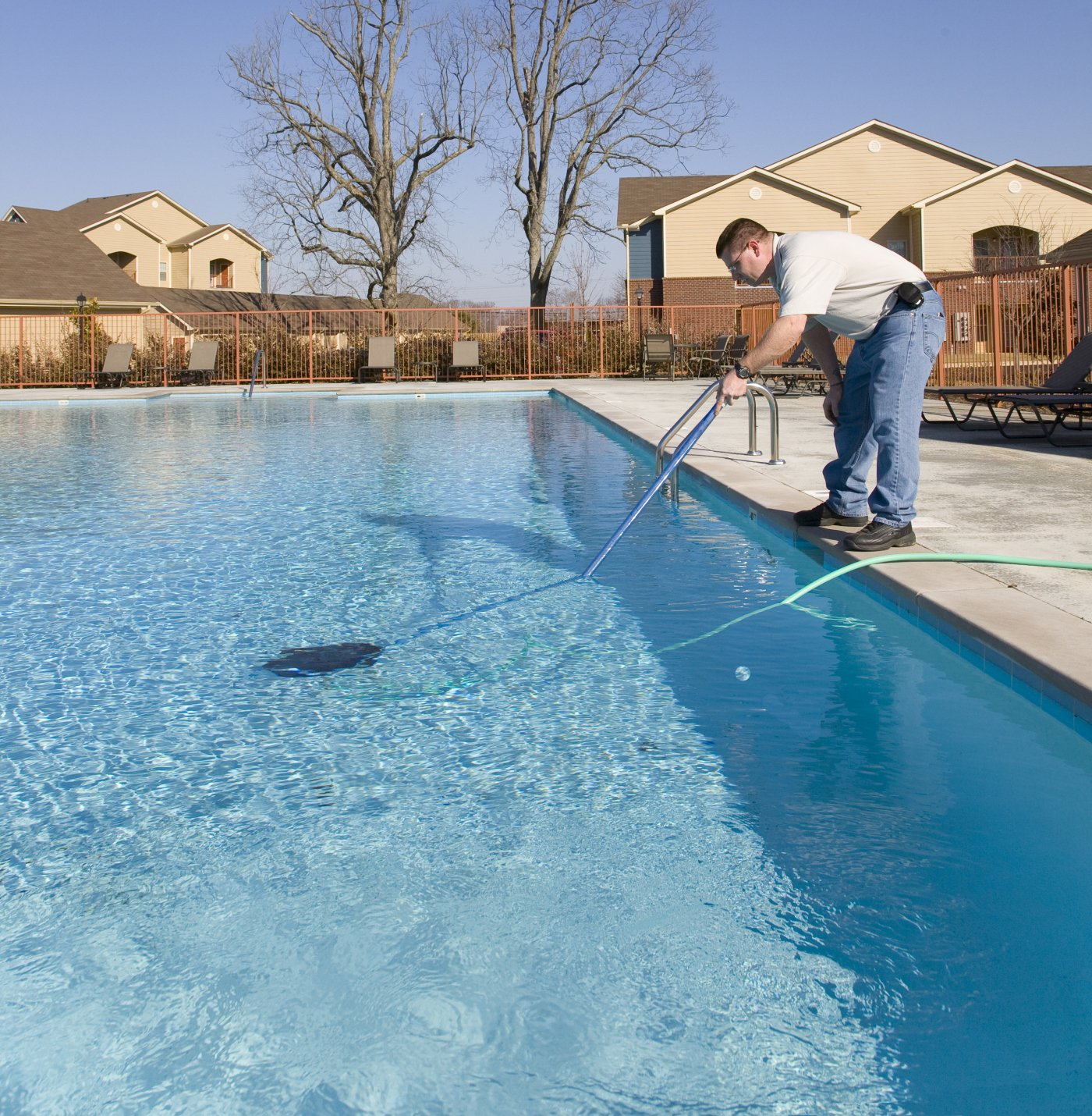 Our experts can provide you with a full pool cleaning service, so give us a  call today!