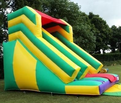 15ft Wide x 22ft Long x 19ft High Mega Slide (Side View)
