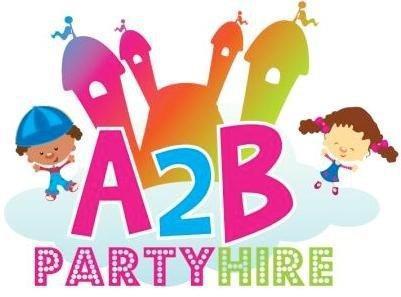 A2B Party Hire logo