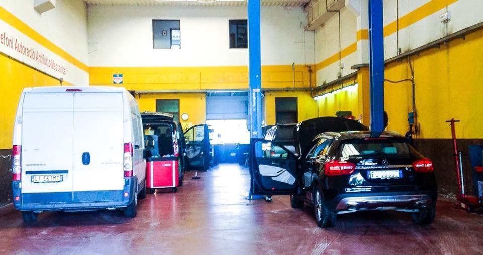 riparazione flotte autobus