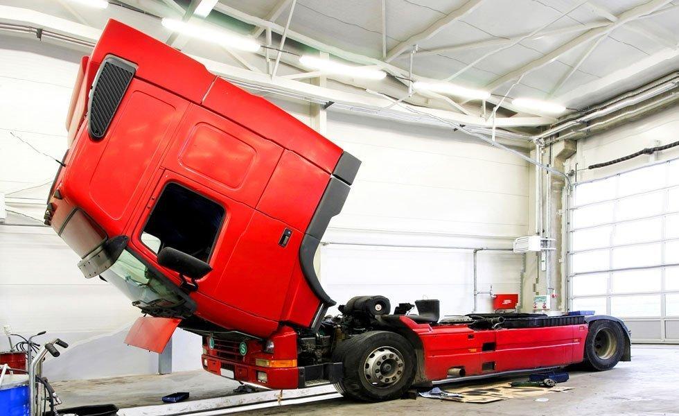 Car repair and servicing in progress