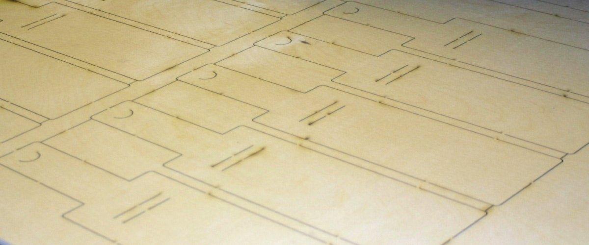 Laser Plywood for Die Boards