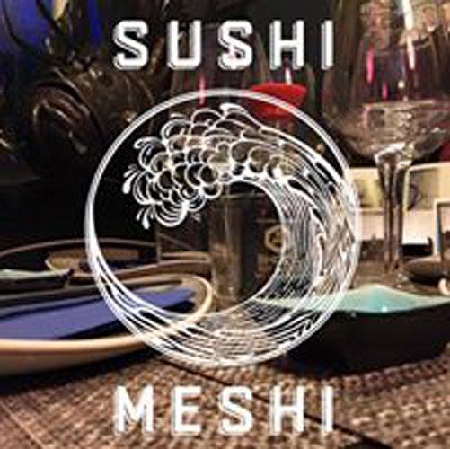 insegna SUSHI MESHI
