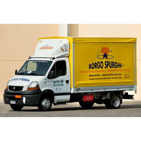 spurghi civili e industriali, camion per ogni esigenza, trasporto rifiuti speciali