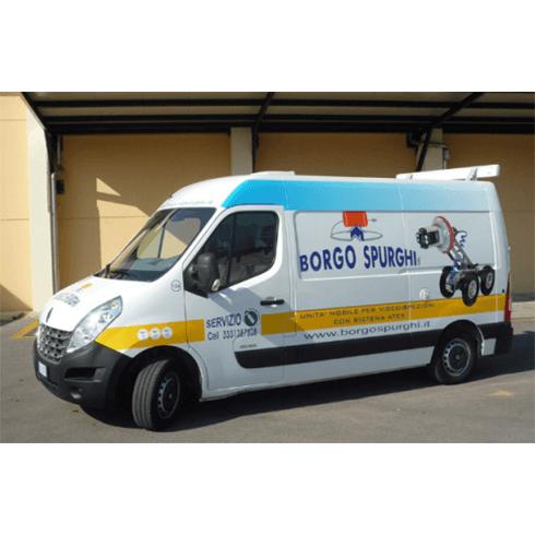 mezzi furgoni renault borgo spurghi, servizio clienti, pulizia materiali polverosi e fangosi