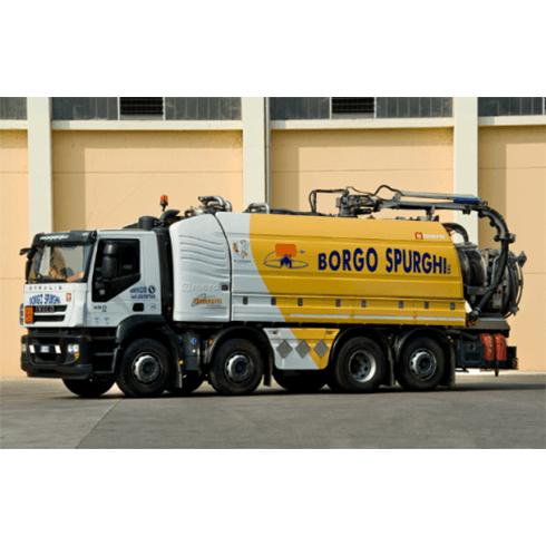 camion automezzi per ogni servizio, raccolta liquami, asportazioni