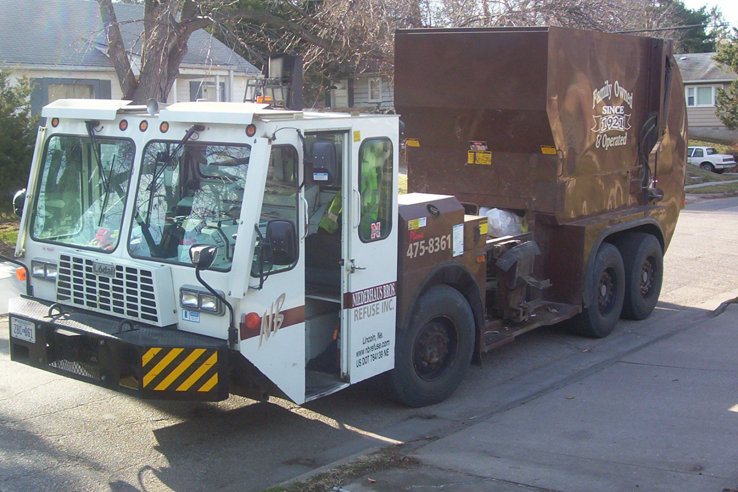 residential waste removal as part of our garbage service in Lincoln, NE