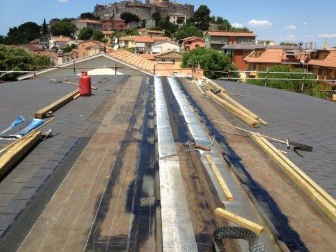 Realizzazione tetto ventilato