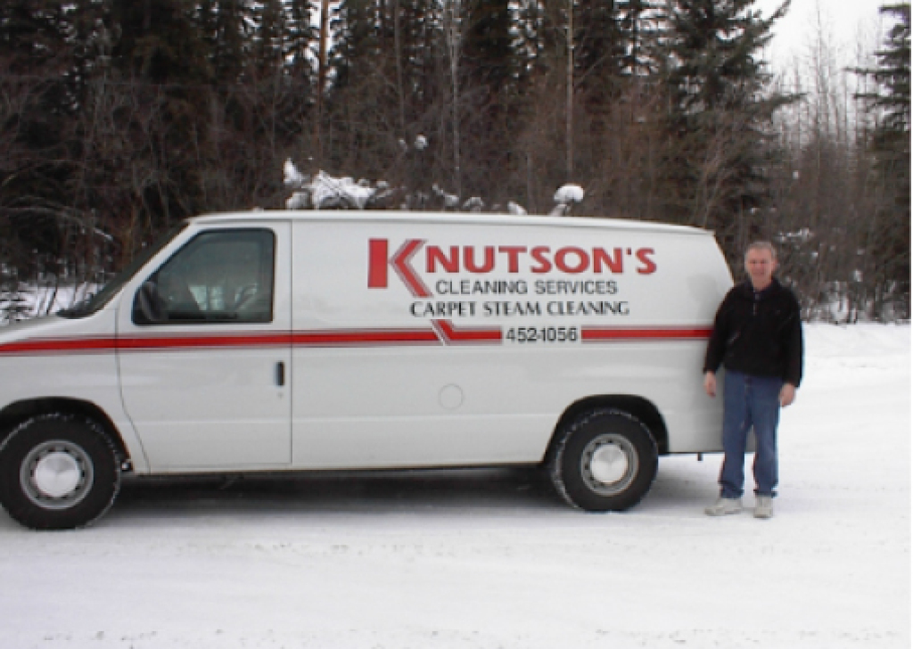 A billboard sign and auto graphics design project in Fairbanks, AK