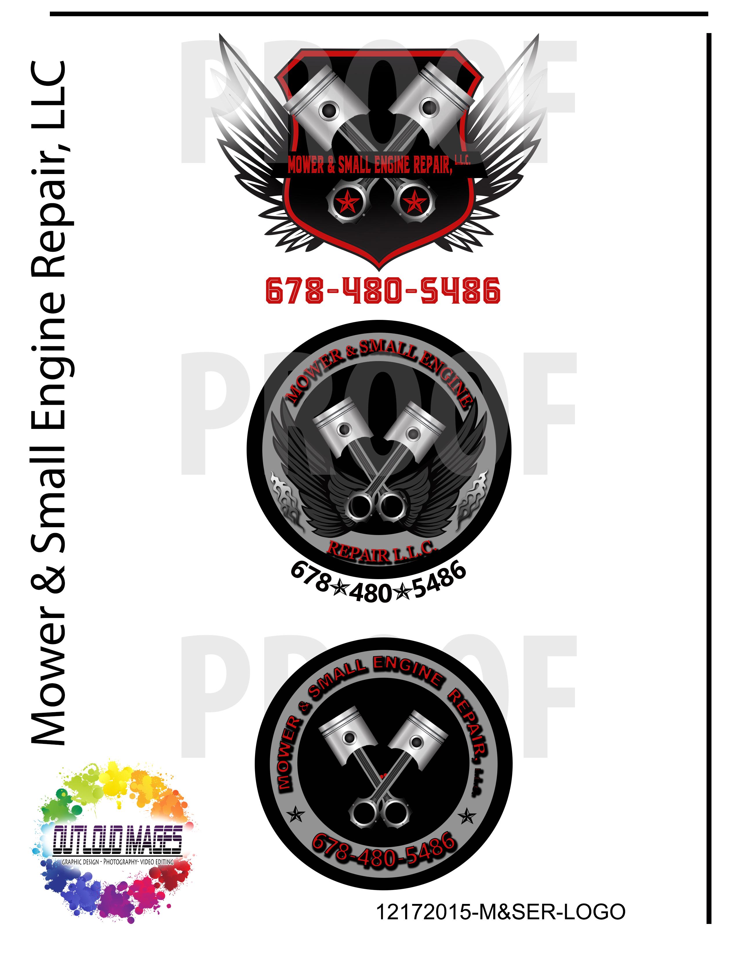 logo proof- mower & small engine repair