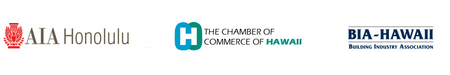 AIA Honolulu member, Chamber of Commerce of Hawaii member, BIA - Hawaii member