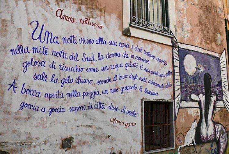 Salerno Viaggio Nei Vicoli Della Citta Tra Street Art E Le Poesie Di Alfonso Gatto