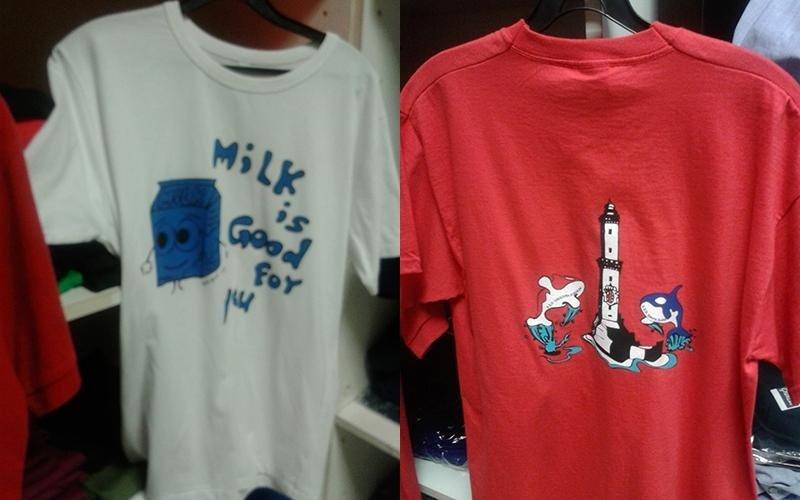 serigrafia su maglietta