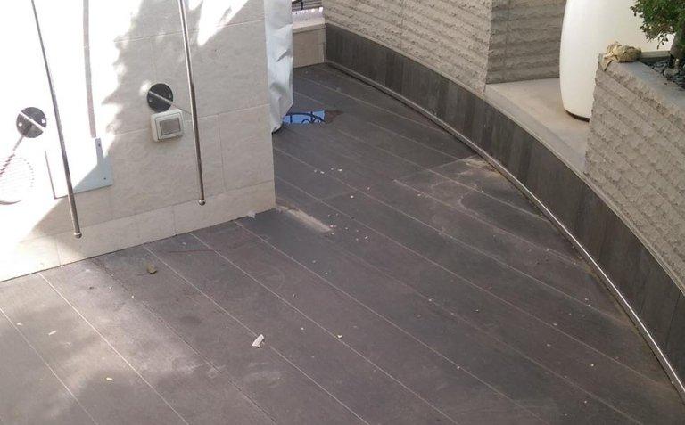 lavorazione pavimenti prima