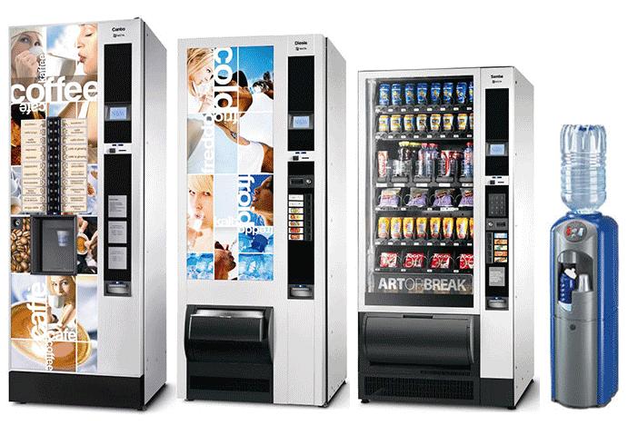 i nostri distributori automatici