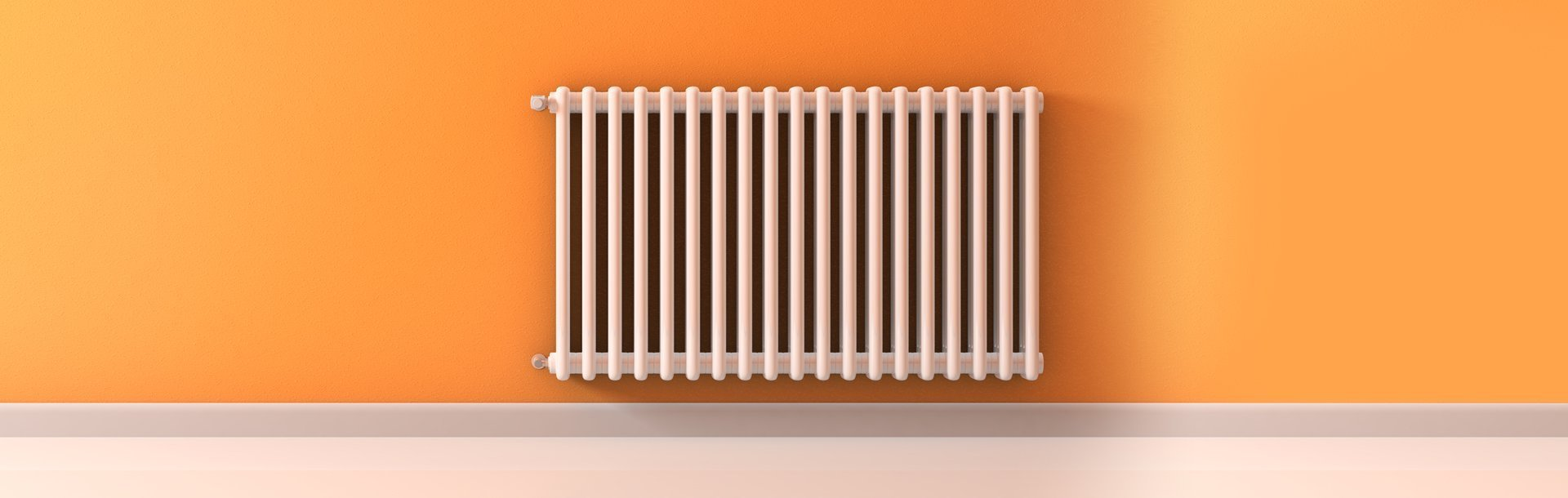 wall central heating