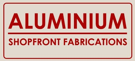 aluminium shopfront fabrications logo