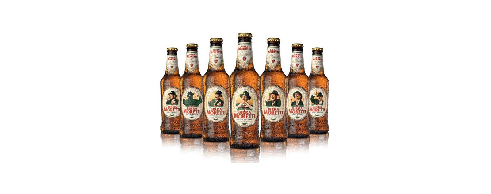 bottiglie di birra moretti