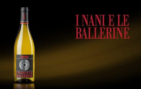 bottiglia di vino i nani e le ballerine