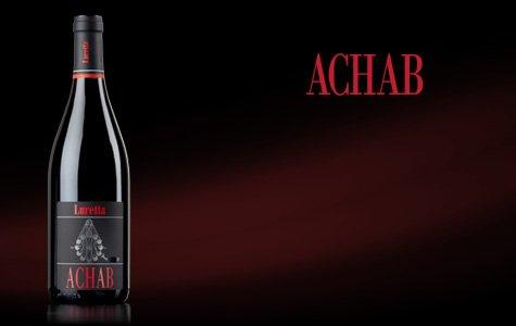 bottiglia di vino achab