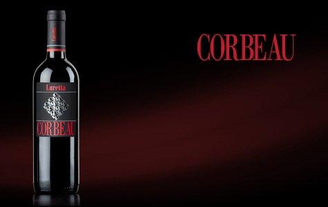 bottiglia di vino corbeau