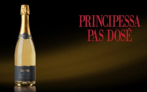 bottiglia di vino principessa pas dose