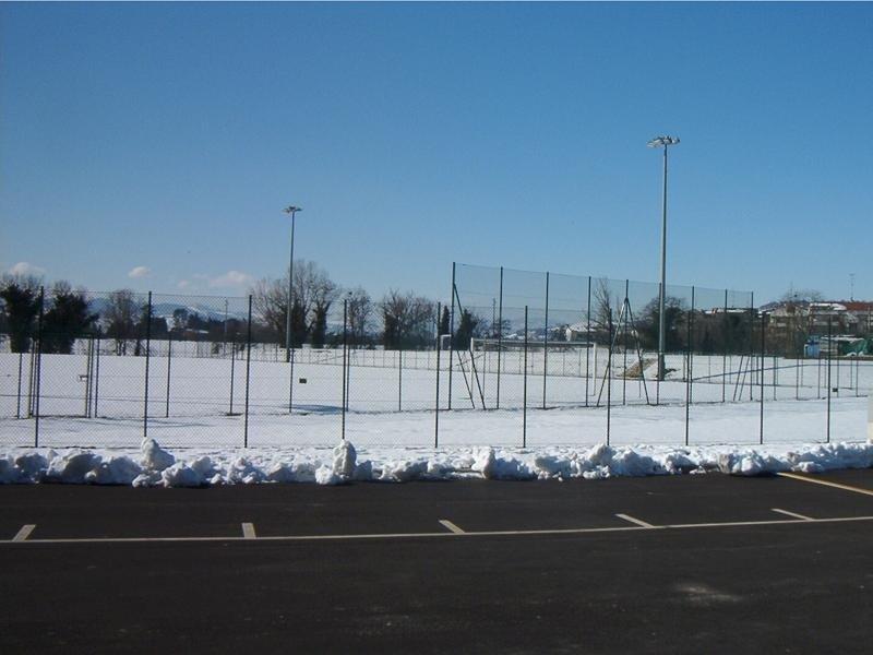 recinzione campo sportivo