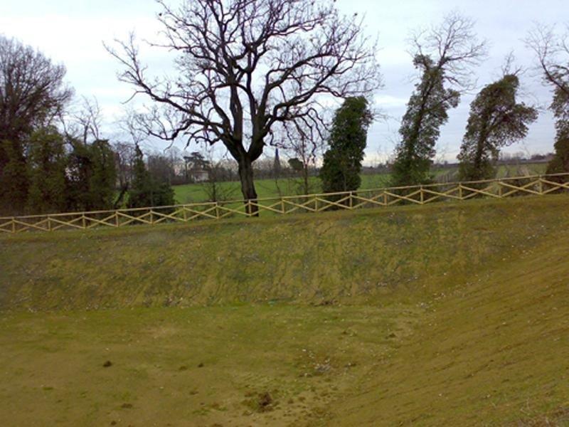 recinzione percorso