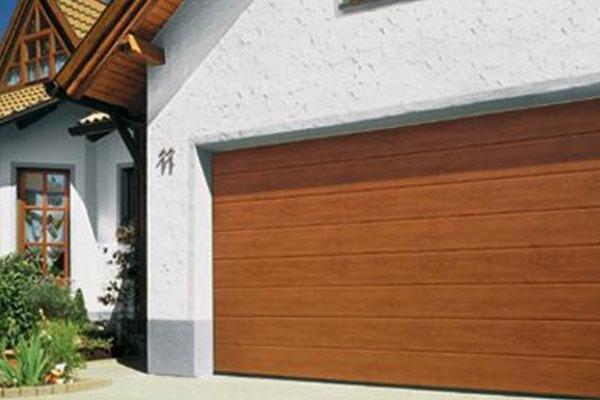 Porta sezionale tipo legno