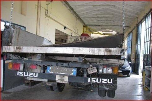 camion dal carrozziere