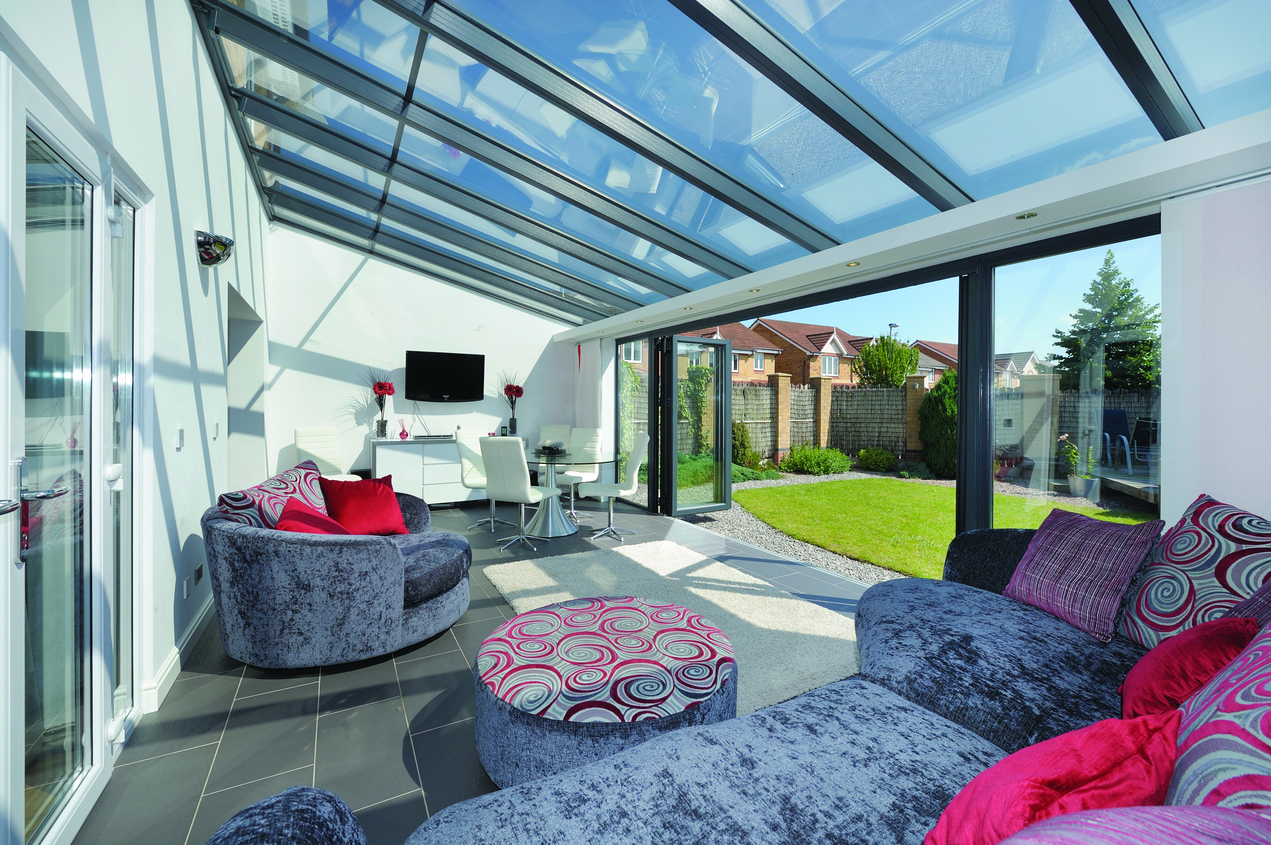 New conservatory from alexander windows
