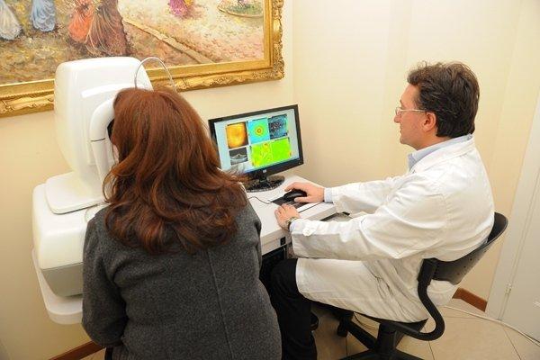 Studio patologie retiniche