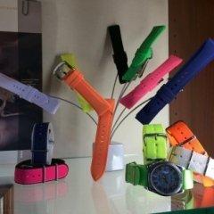 Cinturini in silicone fluo, cinturini per ragazze, cinturini per teenagers