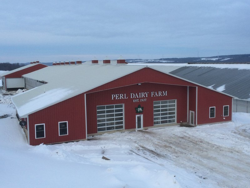 Cole building solutions portageville ny dairy barns for Dairy barn plans