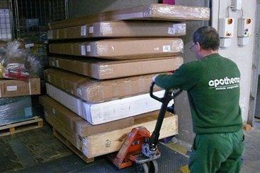 operazioni di carico e scarico