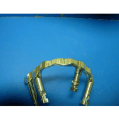 Protesi con barra su impianti attacchi ceka
