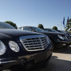 Chauffeur driven executive cars