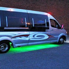Party bus hire services