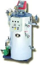 Generatore di vapore con bruciatore tipo S a due giri