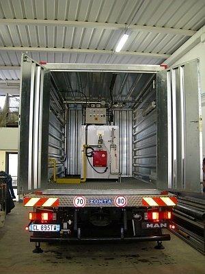 Trasporto del generatore