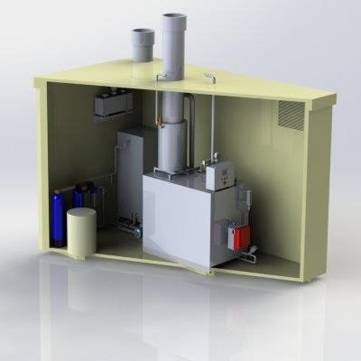 Rendering - sezione container