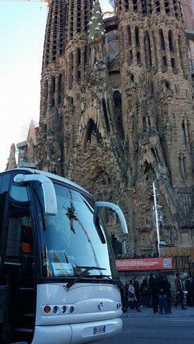 un bus a Barcellona