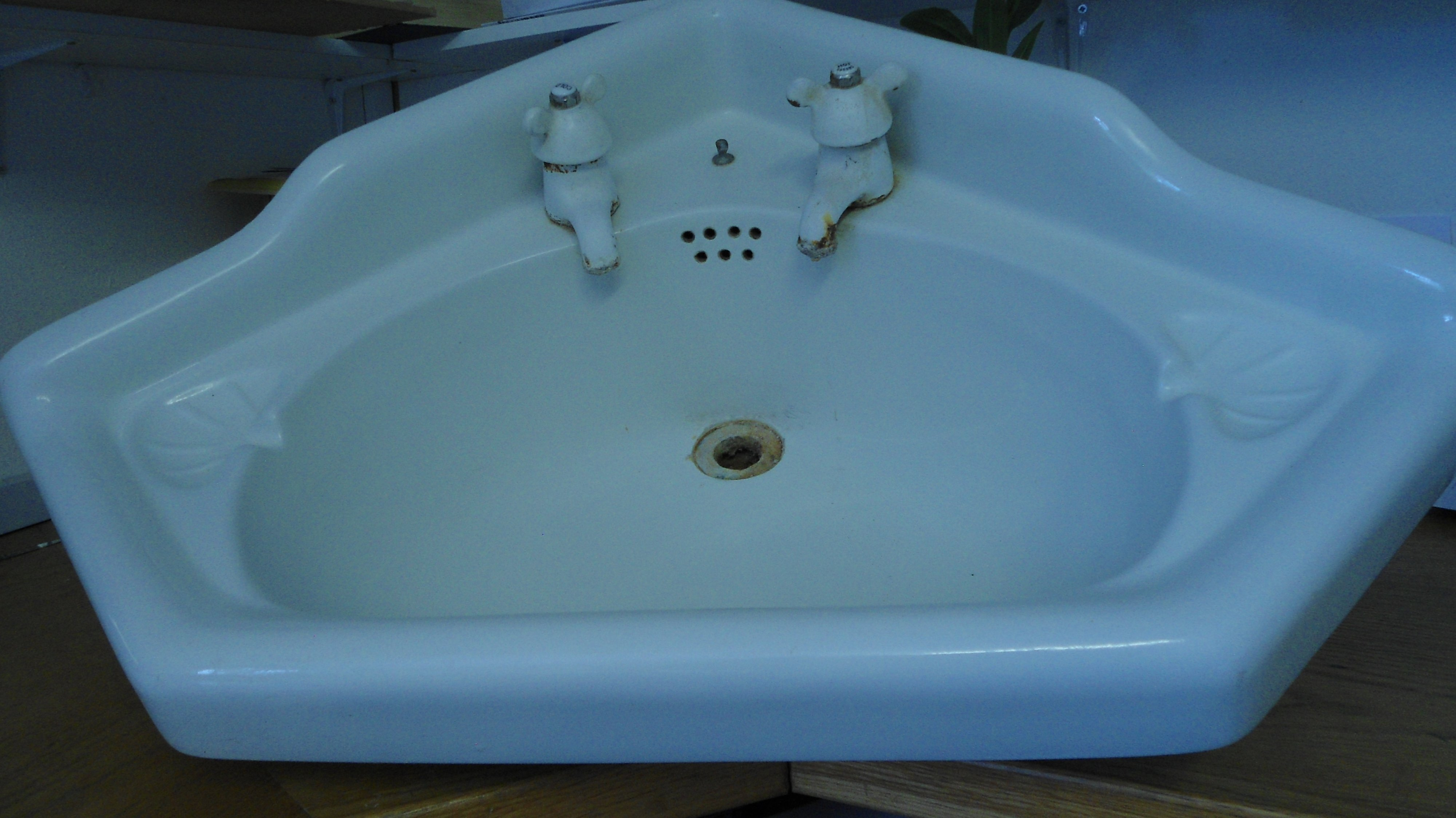 Antique baths basins and toilets