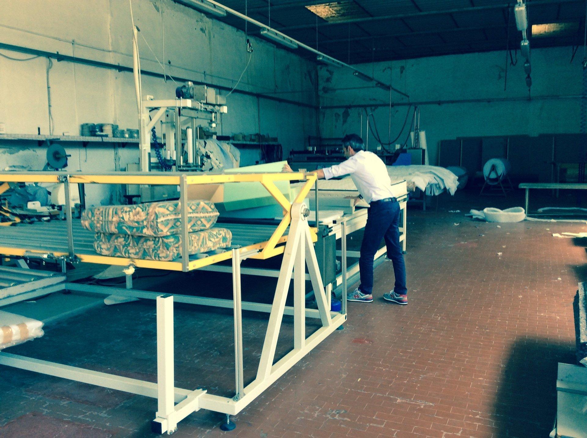 produzione di materassi industriale
