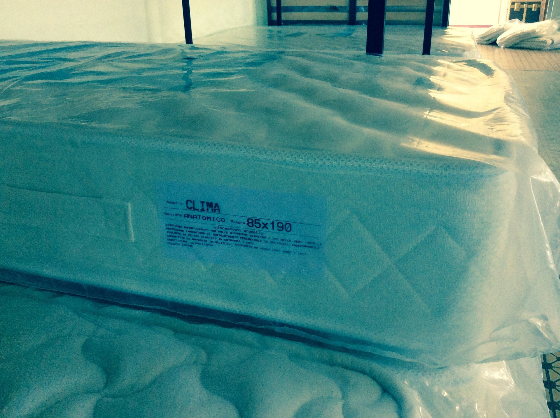 materassi pronti per la vendita