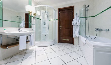 our bathroom installations include