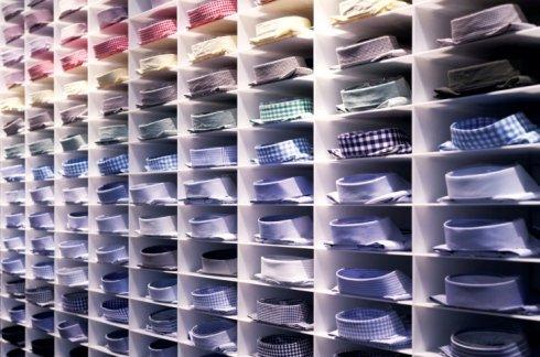 camicie su misura, vendita al dettaglio camicie, camicia uomo colletto arrotondato