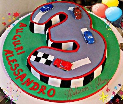 torta 3 anni